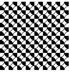 white black circle seamless on white background vector image vector image