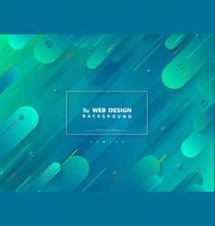 Abstract modern web page design of minimal vector