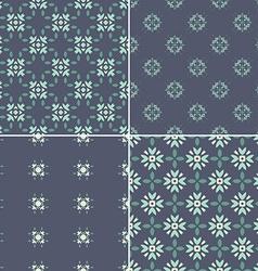 Dark Pattern Set vector image