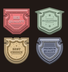 Labels7 vector image