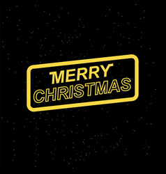 Merry christmas for your seasonal leaflets vector