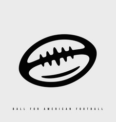 modern professional icon american football ball vector image