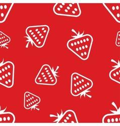 Pattern Circuit Strawberries vector