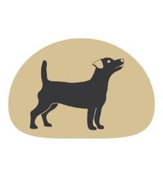 Dog logo design element vector image
