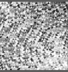 abstract monochrome regular triangle tile mosaic vector image