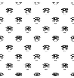 Carriage pattern seamless vector