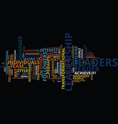 Leadership development text background word cloud vector