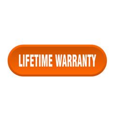 Lifetime warranty button lifetime warranty vector