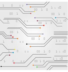 line digital colorfull pattern vector image