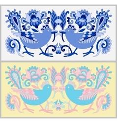 Original oriental decorative ethnic bird with vector