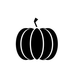 Pumpkin icon in trendy flat style isolated on vector