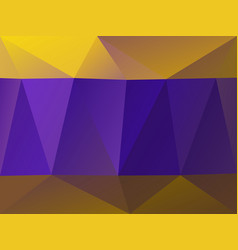 Purple and gold geometric vector