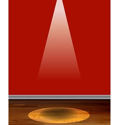Red wall vector