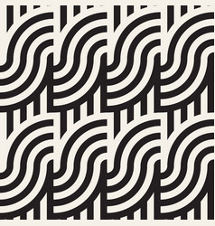 seamless geometric pattern abstract stripy vector image