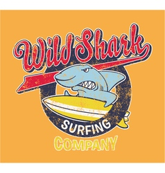 Surf Shark vector
