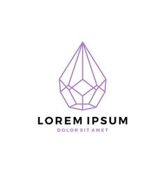 Terrarium succulent logo icon cactus geometric vector