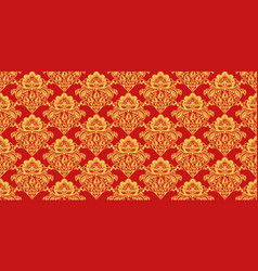 Traditional russian hohloma style seamless pattern vector