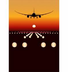 Boeing 787 Dreamliner vector image vector image