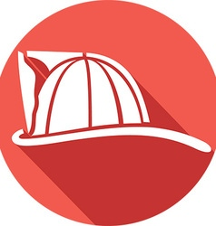 Firefighter Helmet Icon vector image vector image
