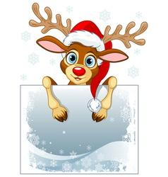 Reindeer sign vector