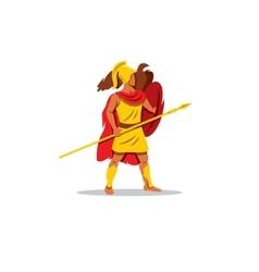 Ares sign The Mythological Greek god of light vector image