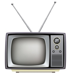 tv set vector image