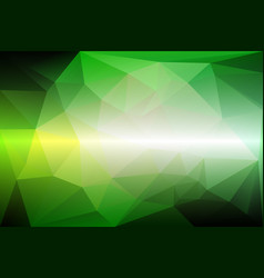 Light green shades low poly background vector