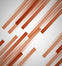 Abstract background with orange straight lines vector image