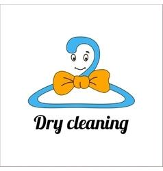 An image of a cartoon laundry symbol vector