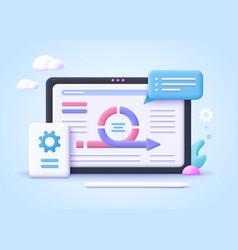 Concept agile project management agile vector