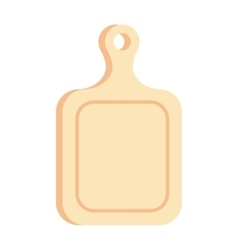Cutting cooking board wooden kitchen toolv ector vector