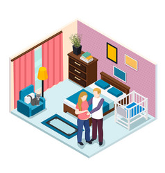 Expectation baby isometric composition vector