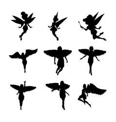 Fairytale silhouette pack vector