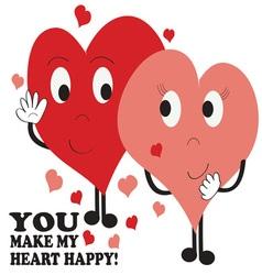 Heart Happy vector