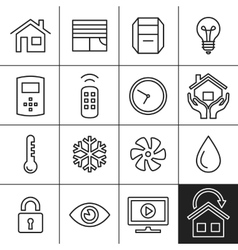 Home Automation Icons vector