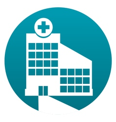Hospital sign vector