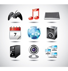 icons operationsystem net vector image