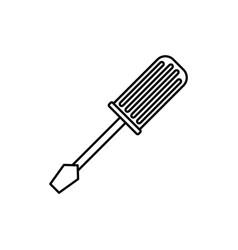 screwdriver construction tool vector image