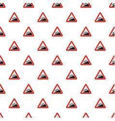 Steep climb pattern seamless vector