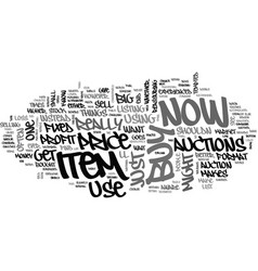 when not to use buy now text word cloud concept vector image