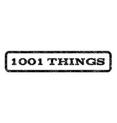1001 things watermark stamp vector image