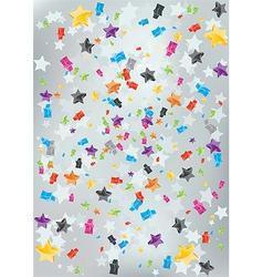 Burst Stars Background vector image