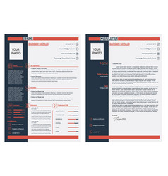 resume vector image