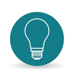 eco light bulb design vector image vector image