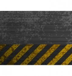 grunge metal template background vector image vector image