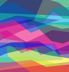 Abstract color geometric backgrounds Angular lines vector image vector image
