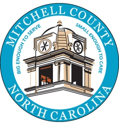Mitchell County Seal vector image vector image