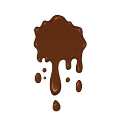 - brown splash liquid vector