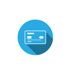 credit card icon graphic design template vector image