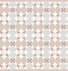 Elegance seamless pattern retro style vector